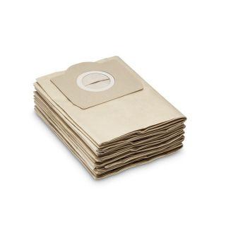 Bolsa papel para aspiradora KARCHER WD 3200 y WD3  x 5 unid.